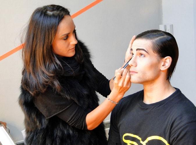 Photos : la séance maquillage est de rigueur