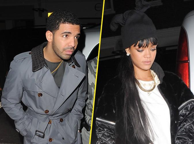 Drake et Rihanna à Londres le 27 mars 2014