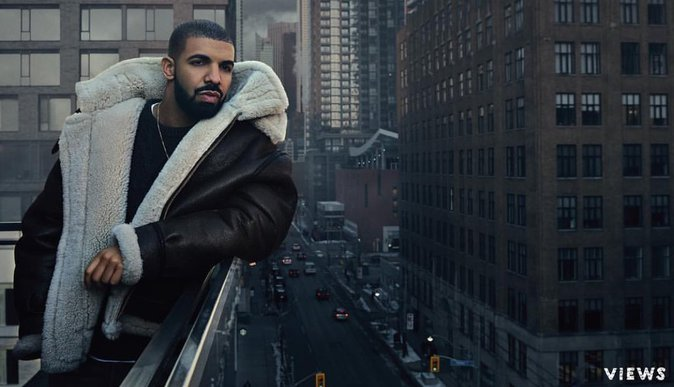 Drake en 2016 pour Views