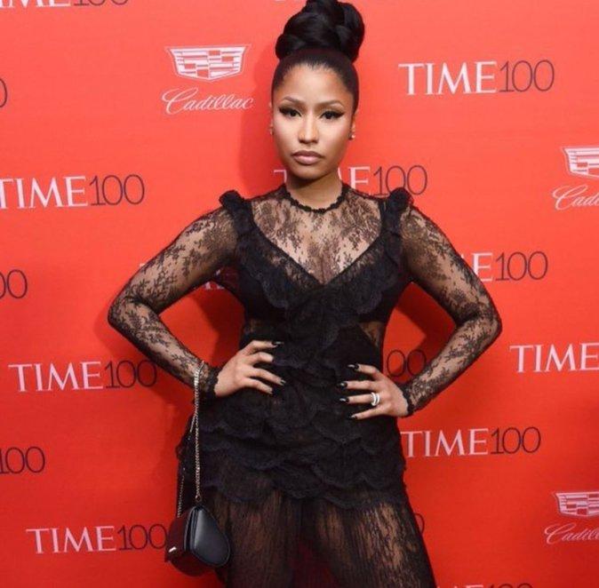 Nicki Minaj il y a quelques jours lors de la cérémonie du Times 100
