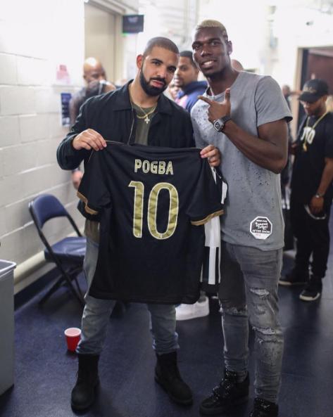 Photos : Drake : totalement fan d'un joueur de l'équipe de France, découvrez lequel...