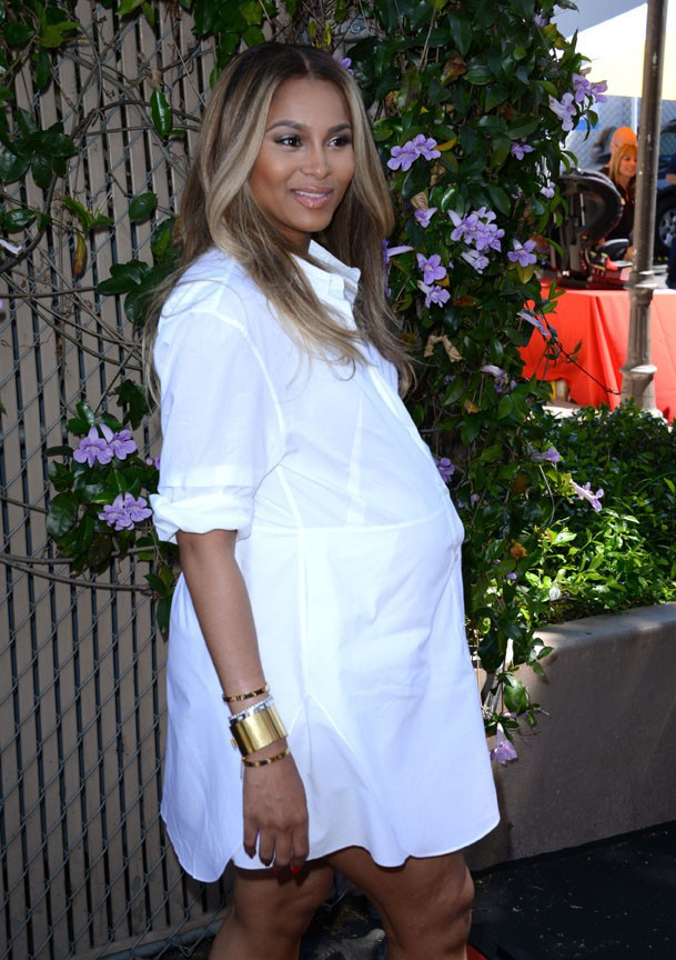 Ciara à West Hollywood le 5 avril 2014
