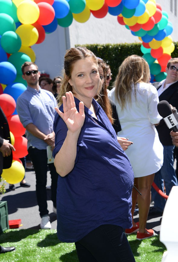 Drew Barrymore à West Hollywood le 5 avril 2014