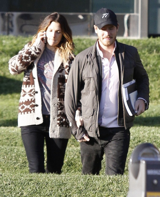 Drew Barrymore et son mec Will Kopelman à West Hollywood, le 20 décembre 2011.