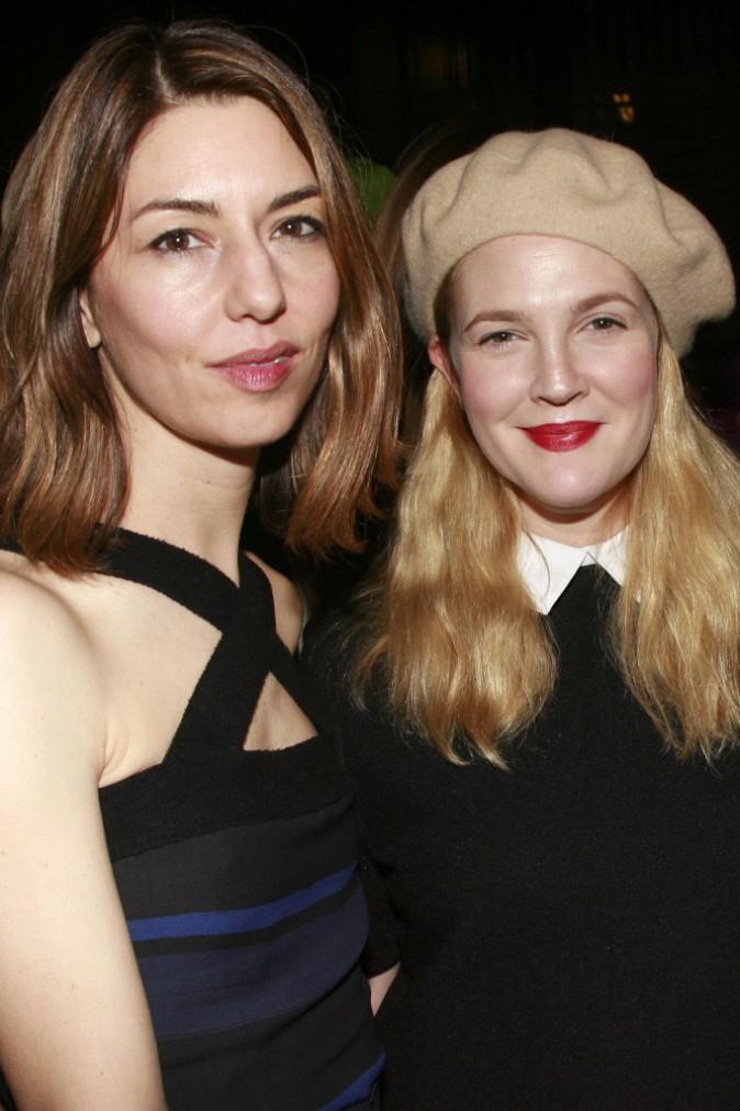 Drew Barrymore et Sofia Coppola le 9 novembre 2014