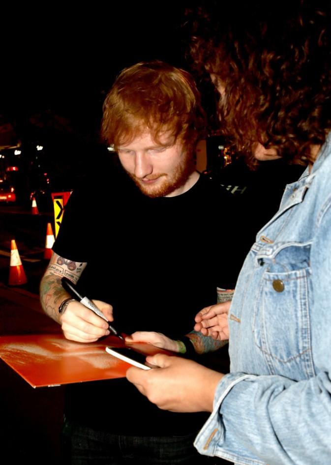 Ed Sheeran le 18 mars 2015