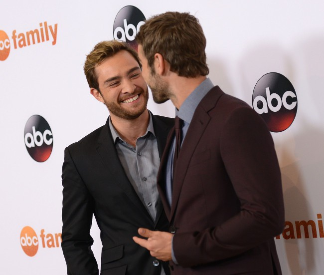 Ed Westwick et Chace Crawford à Beverly Hills le 4 août 2015