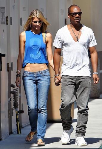 Eddie Murphy et Paige Butcher à Los Angeles le 7 août 2013