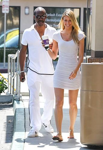 Eddie Murphy et Paige Butcher à Los Angeles le 9 juillet 2013