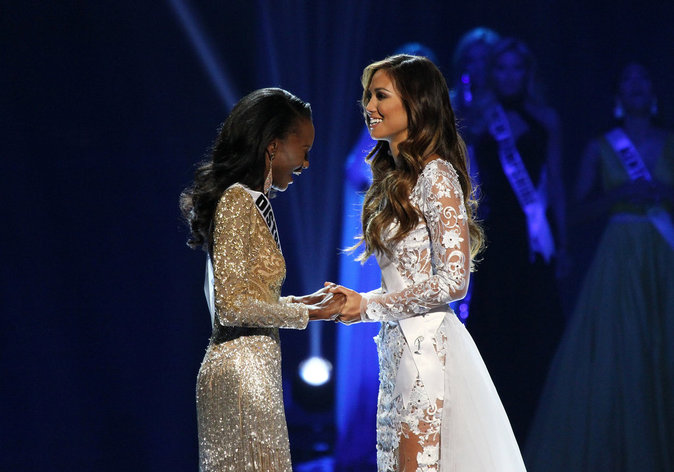 Photos : élection de Miss USA : la question qui dérange...