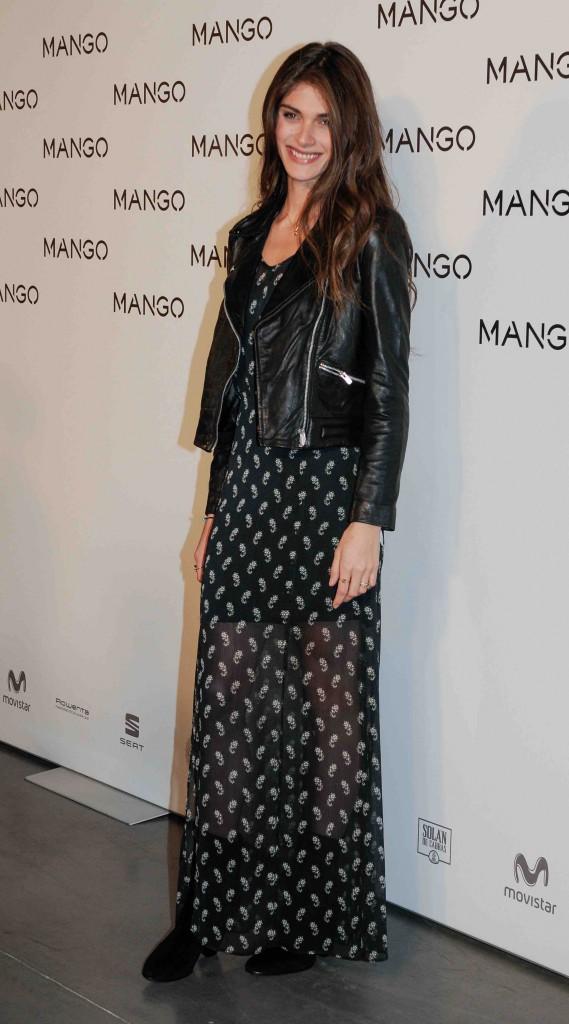 Elisa Sednaoui : sublime pour le défilé Mango !