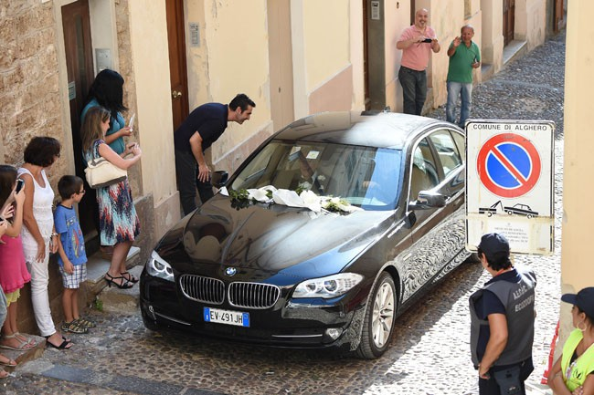 Elisabetta Canalis a épousé Brian Perri à Sassari le 14 septembre 2014