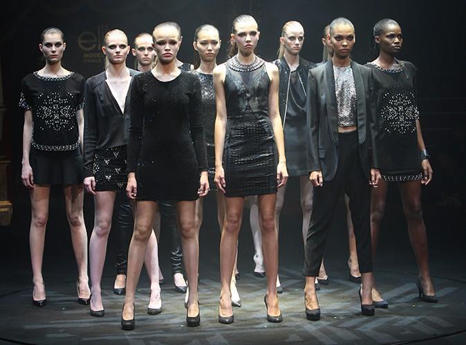 La finale Elite Model Look France 2013 à Paris le 17 octobre