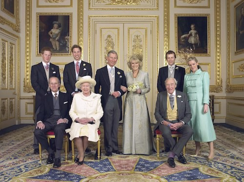 avril 2005 : le mariage du prince Charles avec Camilla