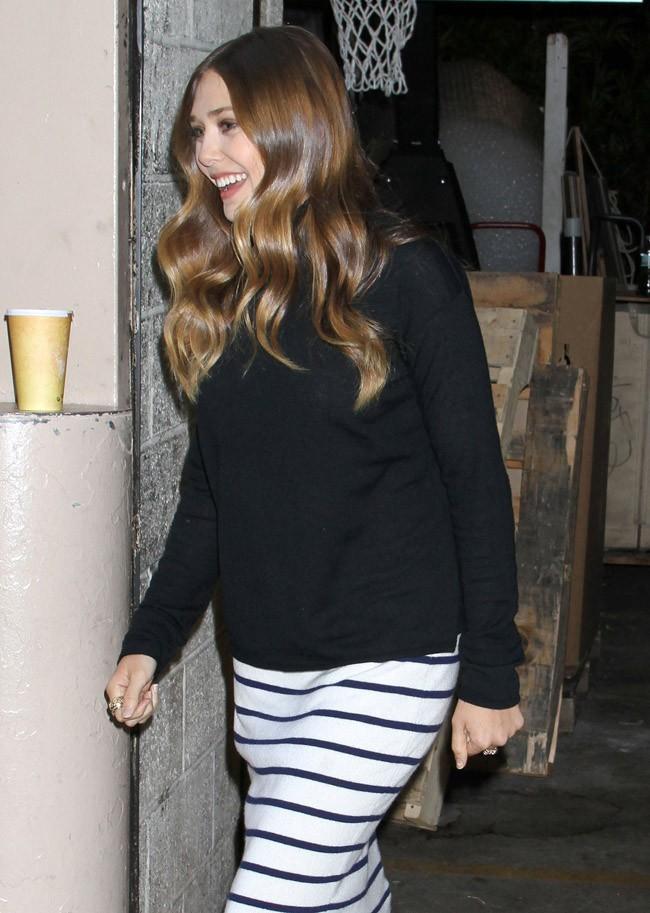 Elizabeth Olsen le 19 septembre 2012 à New York