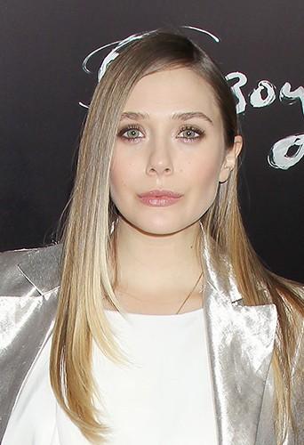 Elizabeth Olsen à New-York le 11 novembre 2013