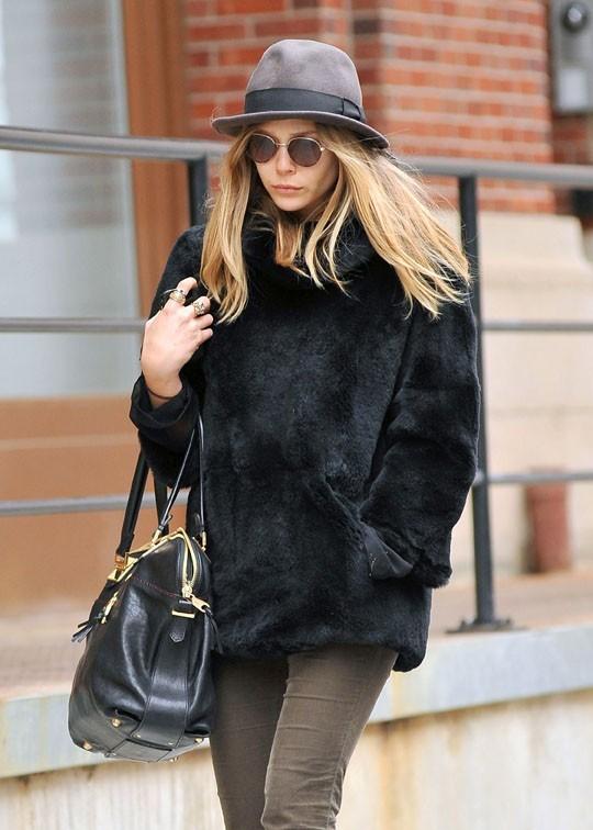 L'actrice de 23 ans dans les rues de New York