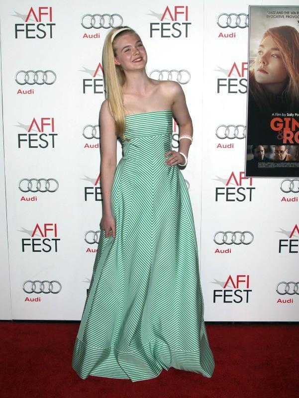 Elle Fanning, Los Angeles, 7 novembre 2012.
