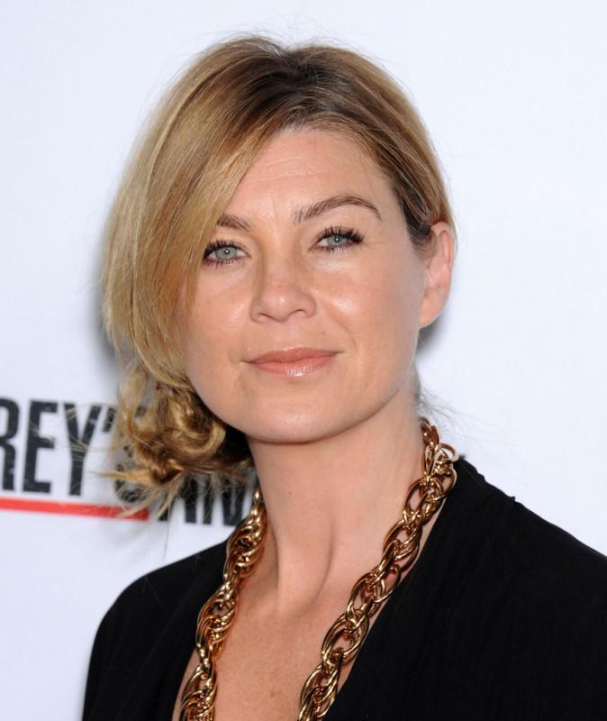 Ellen Pompeo fêtant le 200ème épisode de Grey's Anatomy à Hollywood le 28 septembre 2013