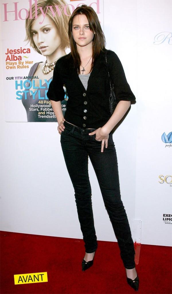 Kristen Stewart à ses débuts...