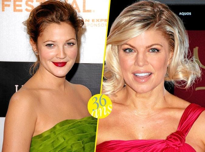 Drew Barrymore et Fergie : elles ont 36 ans !