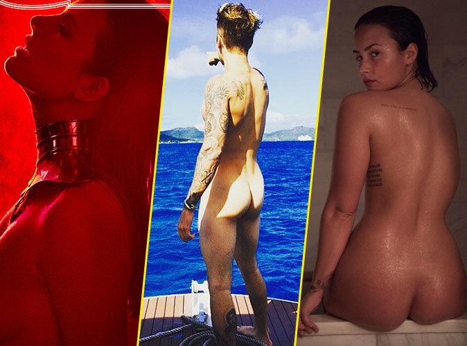 Elodie Frégé, Justin Bieber, Demi Lovato : ces célébrités mises à nu en 2016 !
