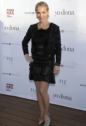 Elsa Pataky à Madrid le 4 juin 2014