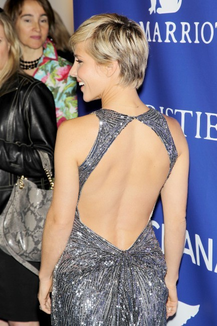 Elsa Pataky lors de la soirée Oceana Ball à New York, le 8 avril 2013.