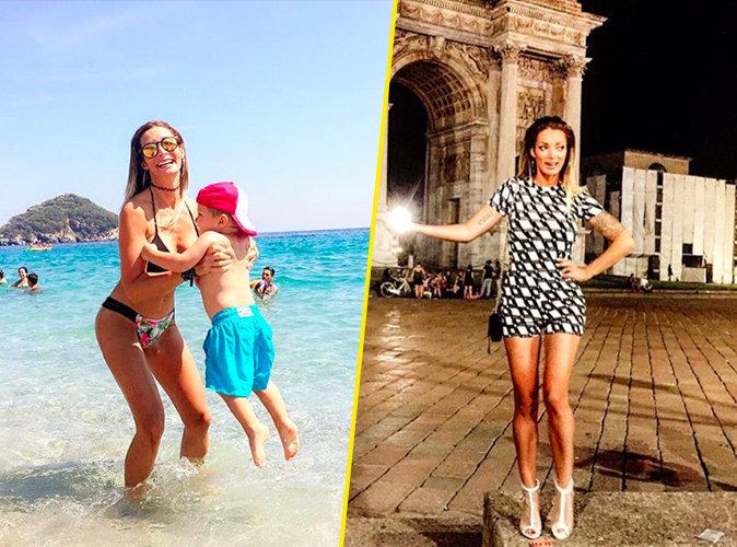 Photos : Emile Nef Naf : Après la romance au Mexique, les vacances en famille en Italie !