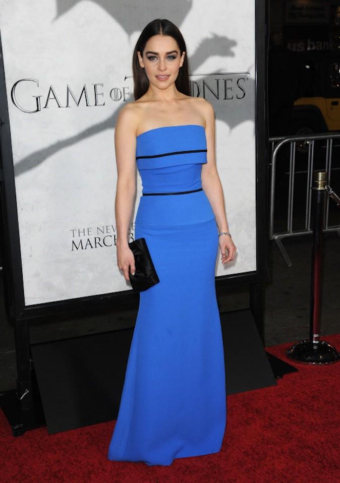 Emilia Clarke, talentueuse ? Normal, elle joue depuis qu'elle a 3 ans !