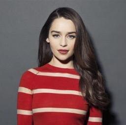 La photo de profil du compte Twitter d'Emilia Clarke qui compte un seul tweet pour près de 100.000 followers !
