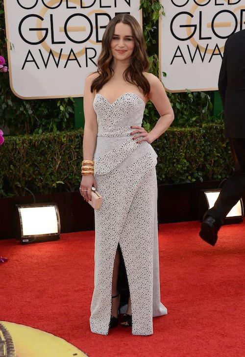 Emilia Clarke, future reine des tapis rouges ?