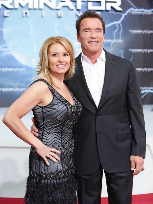 Arnold Schwarzenegger et sa compagne