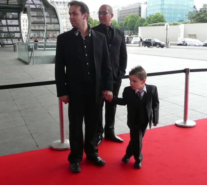 Enzo avec son papa