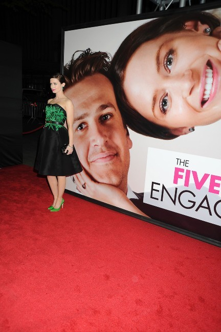 Emily Blunt lors de la première du film The Five-Year Engagement à New York, le 18 avril 2012.