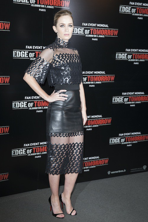 Photos : Emily Blunt et Tom Cruise : un duo de choc pour présenter Edge of Tomorrow à Paris !