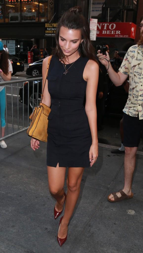Emily Ratajkowski le 19 août 2015