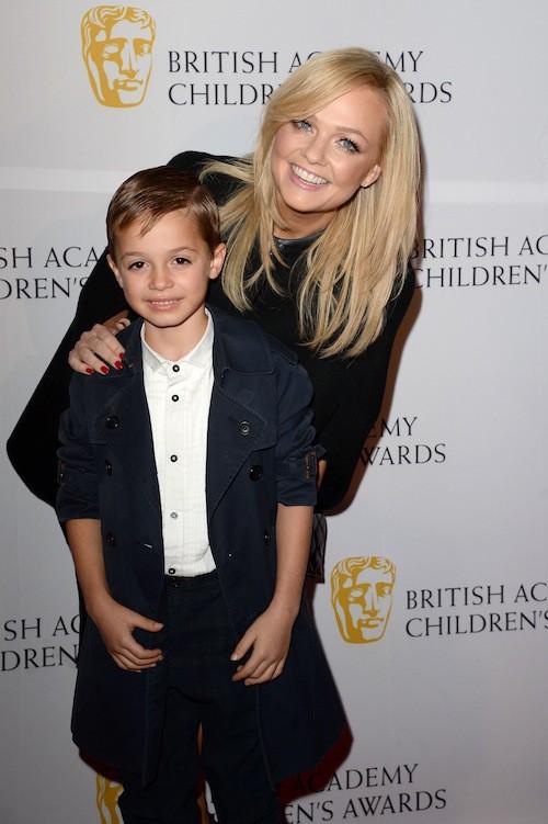 Photos : Emma Bunton : avec son fils, l'ex-Spice Girl est prête à rivaliser avec les Beckham !