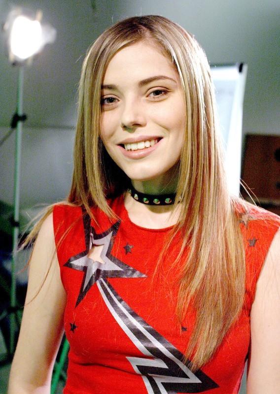 Emma Daumas à l'époque de la Star Ac'