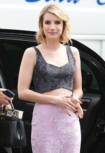 Emma Roberts à Los Angeles le 6 mai 2014