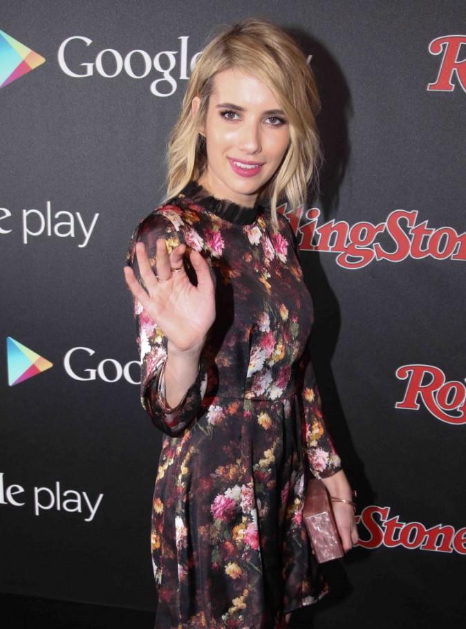 Emma Roberts : entre esprit fleur bleue et rock elle n'a pas su choisir !