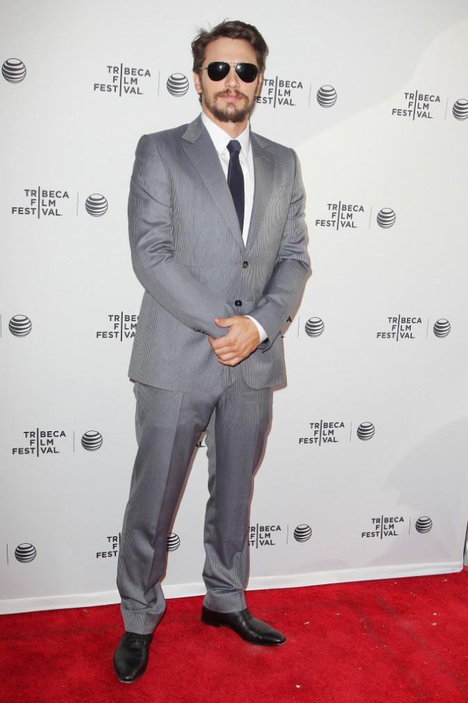 """James Franco lors de la première du film """"Palo Alto"""" à New York, le 24 avril 2014."""