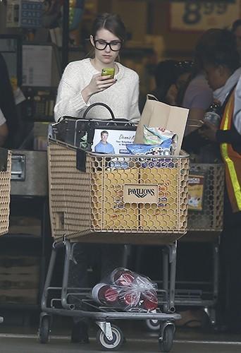 Emma Roberts à Los Angeles le 7 avril 2013