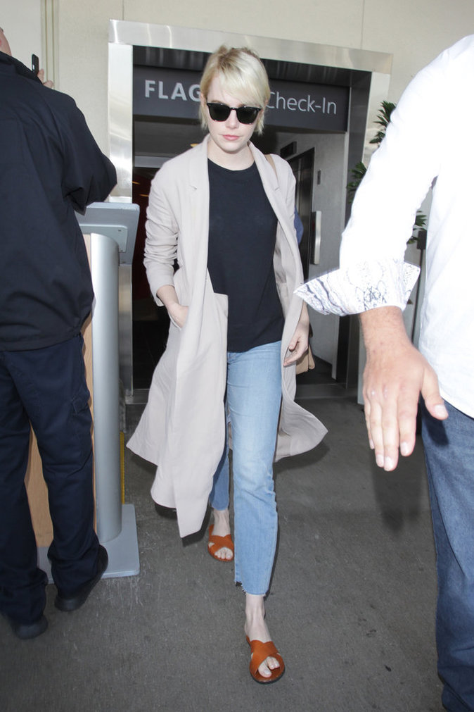 Emma Stone le 8 juin 2016 à Los Angeles