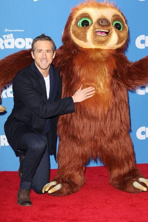Ryan Reynolds à l'avant-première de The Croods à New-York le 10 mars 2013