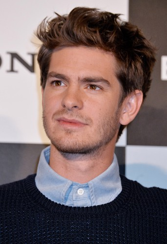 Andrew Garfield à Tokyo le 31 mars 2014