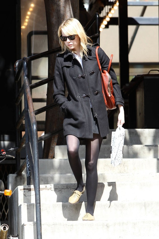 Emma Stone le 7 octobre 2012 à Los Angeles