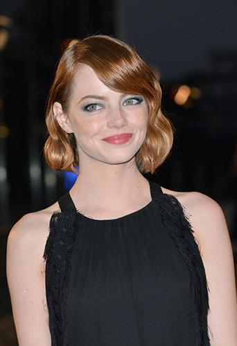 Emma Stone à Paris le 11 septembre 2014