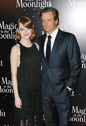 Emma Stone et Colin Firth à Paris le 11 septembre 2014