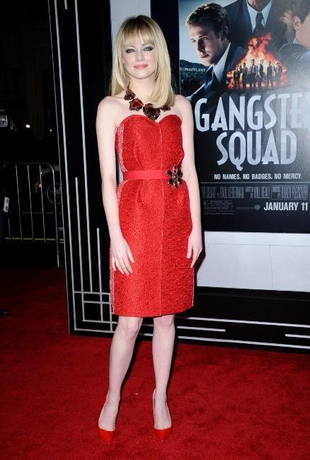 Emma Stone le 7 janvier 2013 à Los Angeles